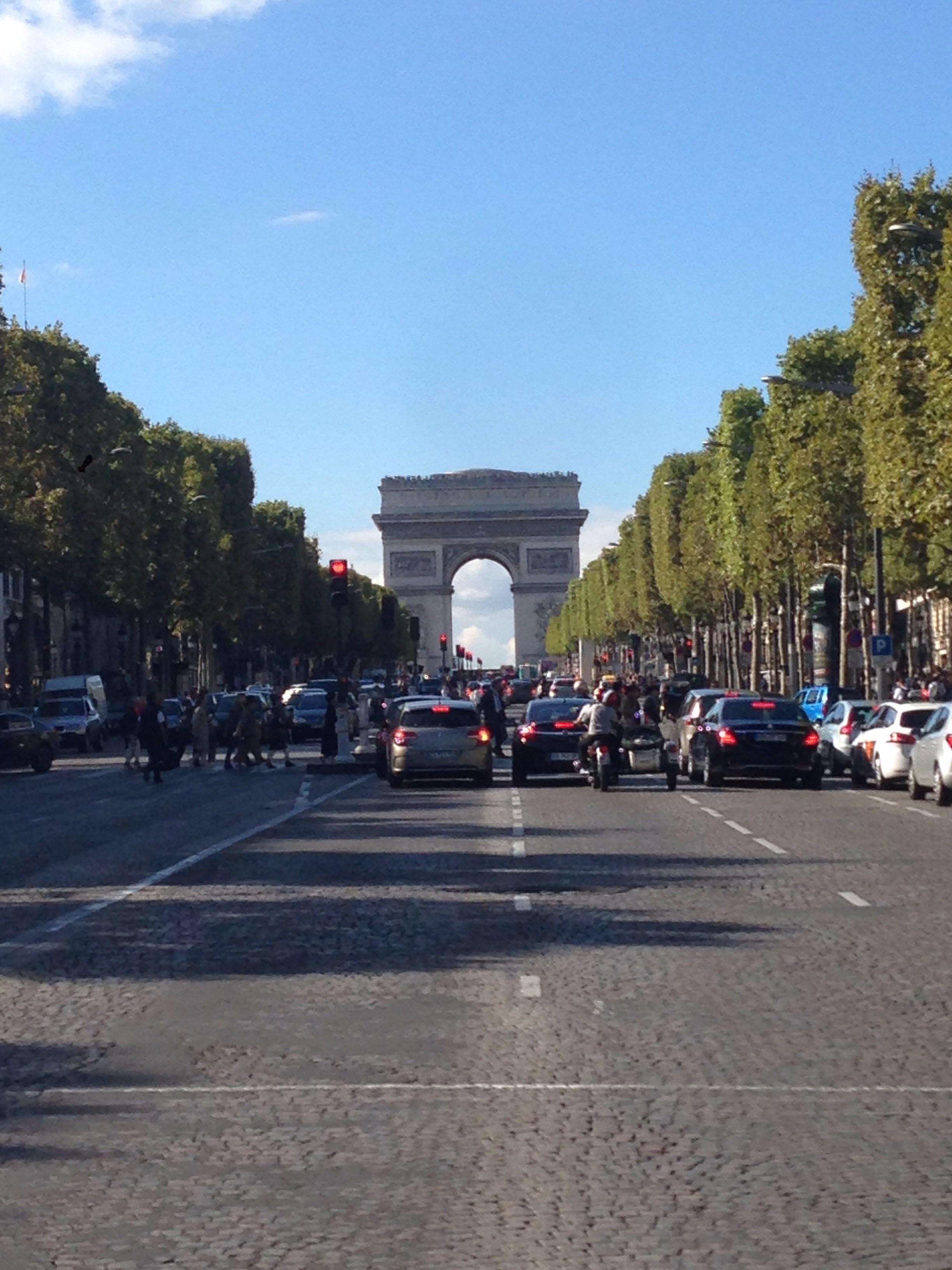 Arc de Triomphe from Champ Elysses